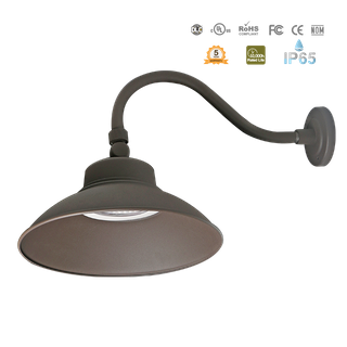 LED-Security Dusk To Dawn-Gooseneck-IP65